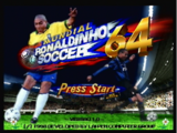 Ronaldinho's Soccer 64 1998