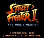 Street Fighter II Title
