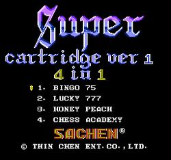 Super Cartridge (Sachen) | BootlegGames Wiki | FANDOM powered by Wikia