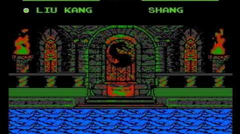 Mortal Kombat Trilogy (MK5) (NES Pirate Game) Gameplay