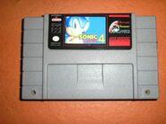 Sonic 4 SNES cart