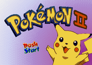 Pokémon II - Title