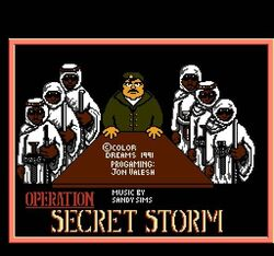 OPERATION SECRET STORM TITLE