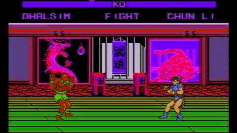 Street Fighter VI (16 Peoples) (Dendy Де́нди Pirate Game) Dhalsim Gameplay