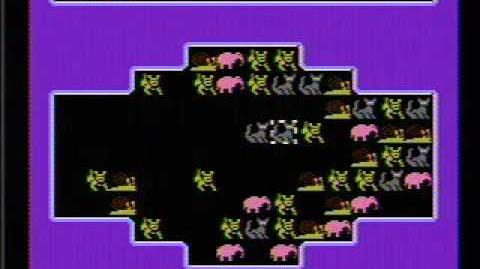 Krazy Kreatures - NES Gameplay