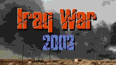 Sega Mega Drive GENESIS Iraq War 2003 Unlicensed Прохождение часть 1 Playthrough part 1