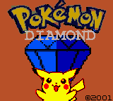 Pokemon Diamond (Special Pikachu Edition)-title
