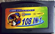 Game USA Advance 108 in 1 front