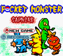 Pocket Monster Saphire