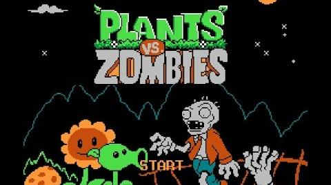 NES Famicom Plants Vs. Zombies Unlicensed Прохождение Playthrough