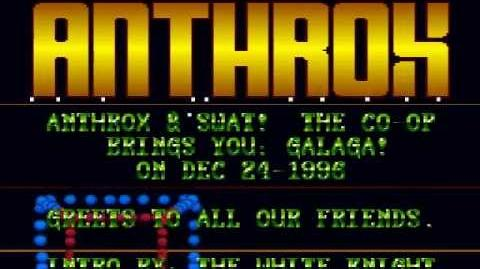Anthrox galaga (A&S NES Hack) snes intro