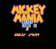 Mickey Mania 7 - Select level
