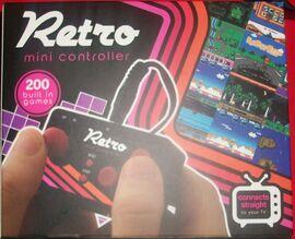 Retro mini controller front