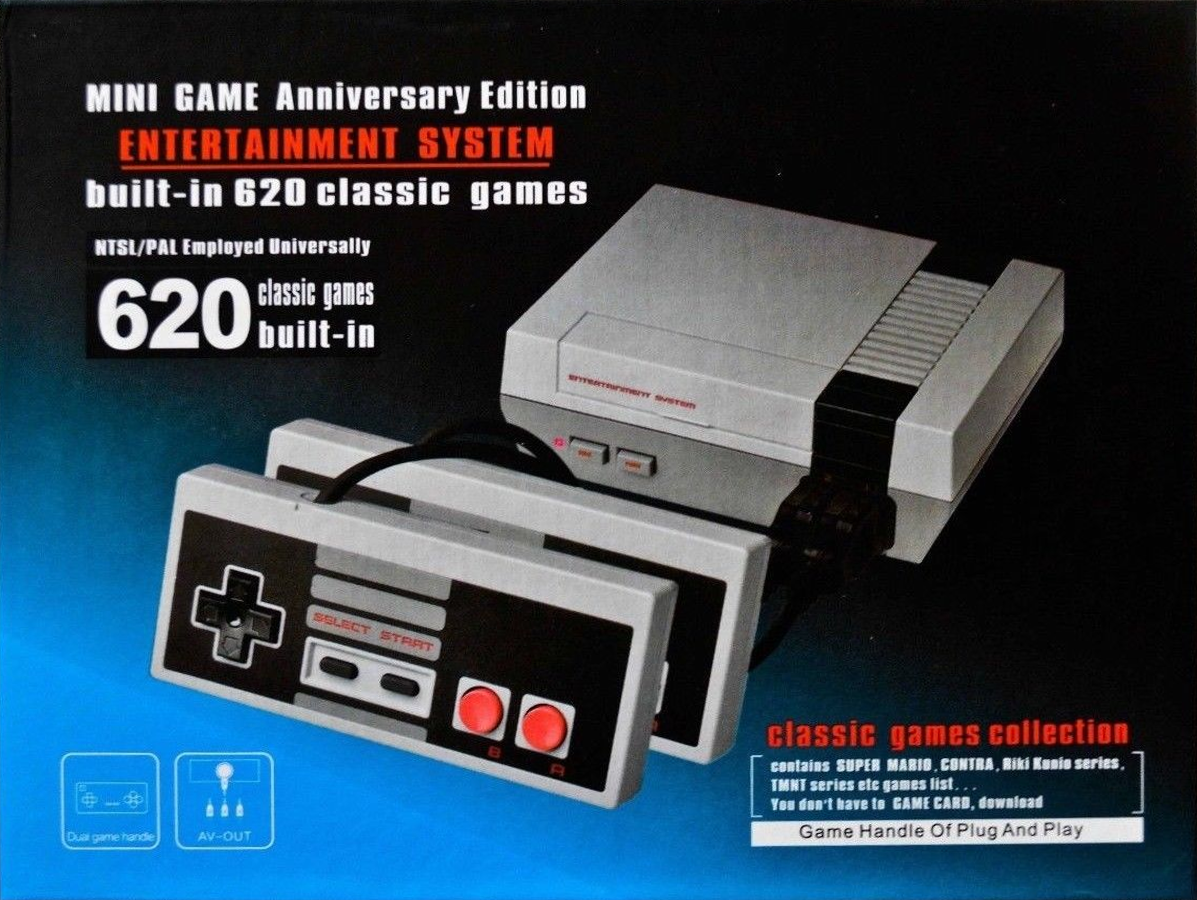 Image result for mini game anniversary edition console built in 620 classic games