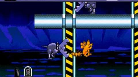 Ice Age (Sega Genesis) - Gameplay (Russian Pirate Hack)