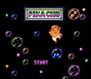 Pikachu - Title screen