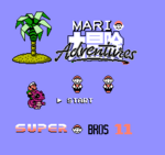 Super Bros 11 title screen