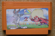 Tiny Toon Adventures 2 Golden Gard Cartridge Variation 1