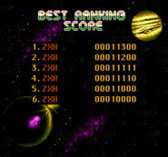Star Ally High Scores