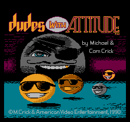 Dudes with Attitude title