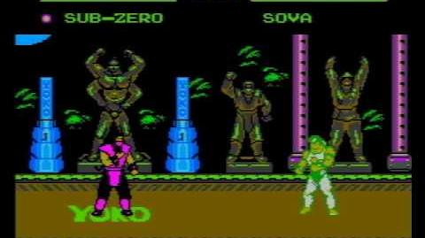 Mortal Kombat V Turbo 30 (NES Piarte Game) Gameplay