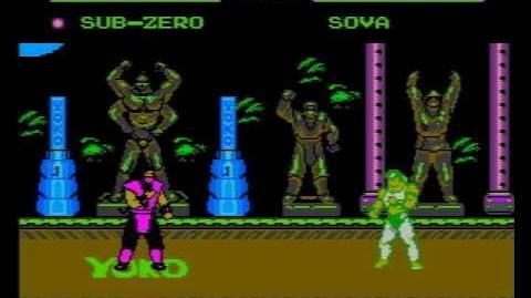 Mortal Kombat V Turbo 30 (NES Piarte Game) Gameplay