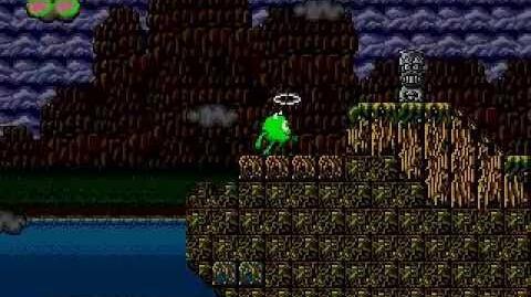 Monsters inc for Mega Drive (demo mode)