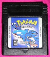 Pokemon Sapphire cartridge