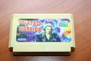 Isolated Warrior Golden Gard Cartridge