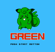 Pokemon Green - Title Screen