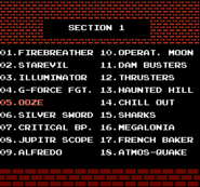 Action 52 Prototype Menu