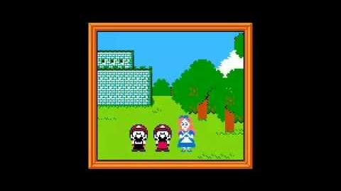 NES Pirate Game Ending - Super Mali Bros. 18 (Mickey Mouse Hack)