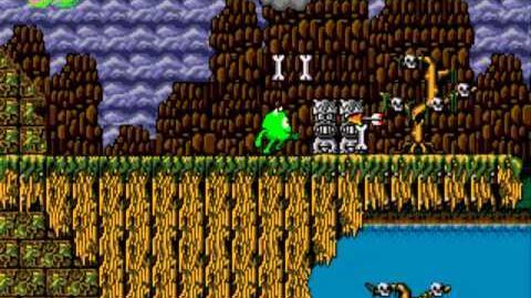 Monsters, Inc. (Sega Genesis) - Gameplay (Russian Pirate Hack)