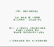 101 Dalmatians - Credits