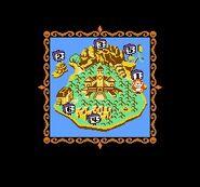 Domkey Kong (Tiny Toon Adventures) - Map