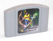 Ronaldinho's Soccer 64 1998 Cartridge Variation 3