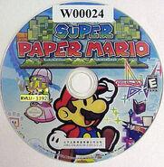 Super Paper Mario Wii Ben Disc