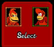 Super Donkey Kong - Xiang Jiao Chuan - Select