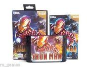 Iron Man megadrive box and cart