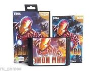 Iron Man megadrive box and cart