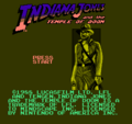 Indiana Jones and the Temple of Doom-Mindscape title.png