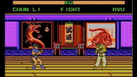 Street Fighter VI (16 Peoples) (NES Pirate Game) Gameplay
