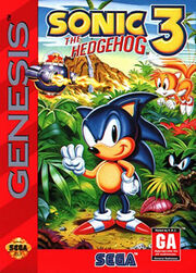 Sonic 3 cover