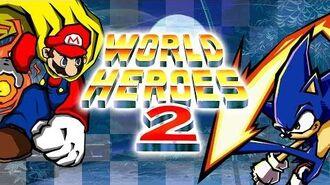 World Heroes 2 (NES pirate) — Walkthrough as Sonic