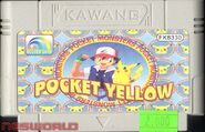 Pokemon Yellow Golden Gard Cartridge