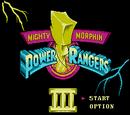 Mighty Morphin Power Rangers III