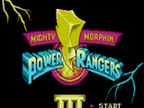 Mighty Morphin Power Rangers III