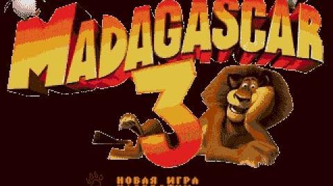 Sega Mega Drive GENESIS Madagascar 3 A Dinosaur's Tale Hack Прохождение Playthrough