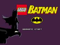 Lego Batman Title