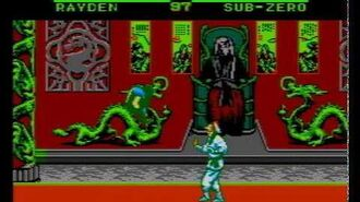 Mortal Kombat II Hummer Team (NES Pirate Game) Gameplay